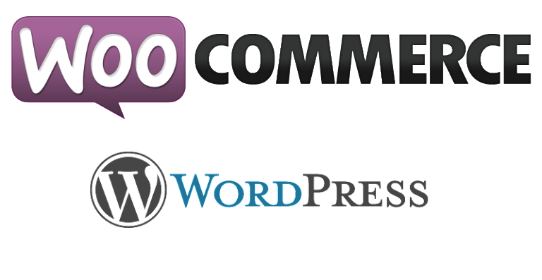 Wordpress & WooCommerce Logo