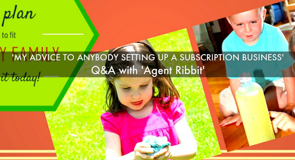'My Advice to Anybody Starting a Subscription Box Business': Agent Ribbit Q&A
