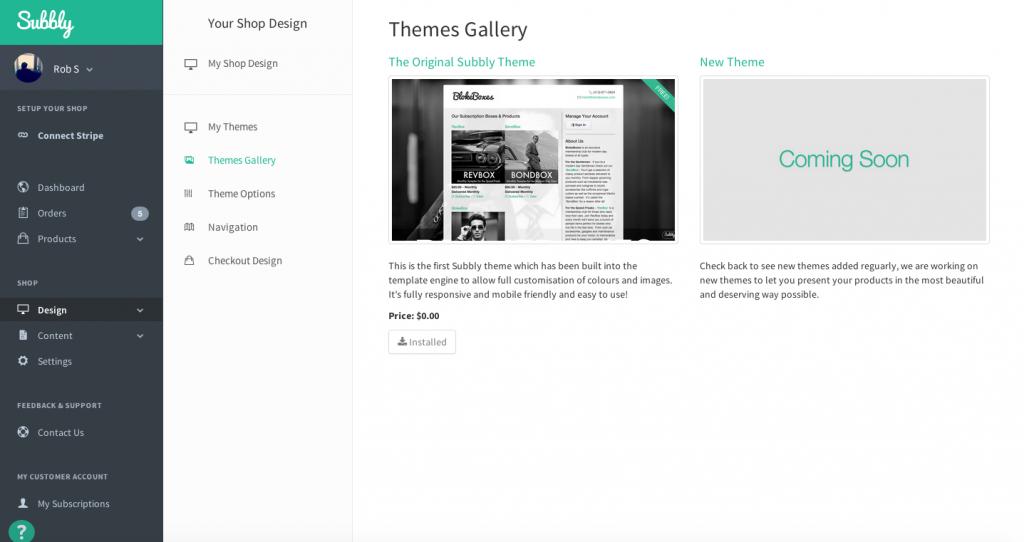 Theme Gallery