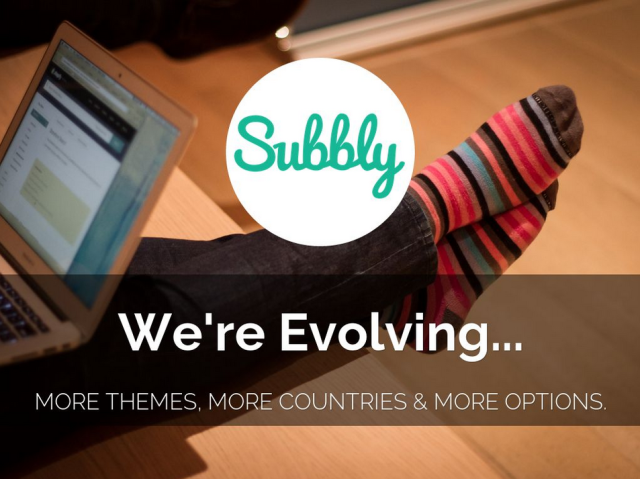 Subbly is evolving