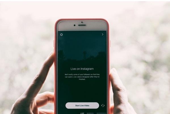 instagram on mobile
