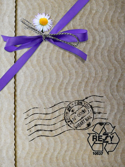 letter cardboard