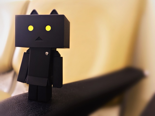 cardboard mascote