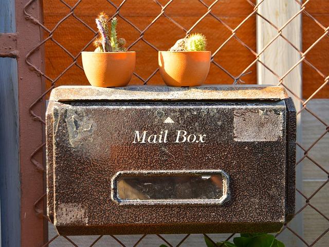 pretty mail box