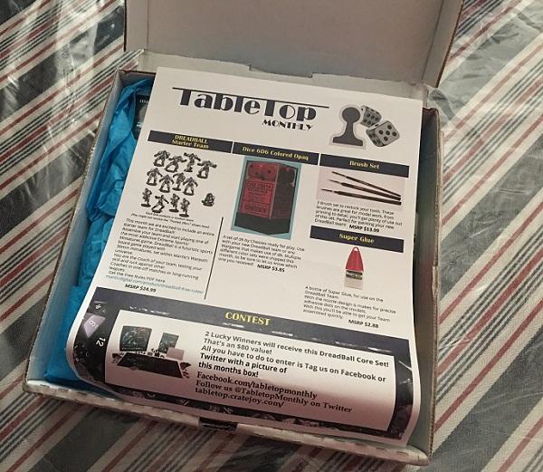 table top box