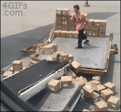 Throwing boxes