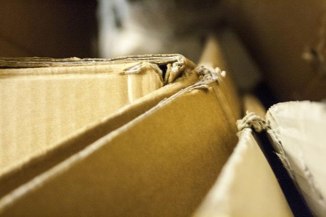 cardboard pieces
