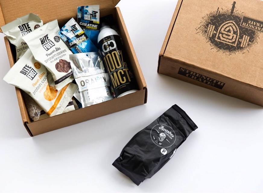 best monthly subscription boxes - strength crate