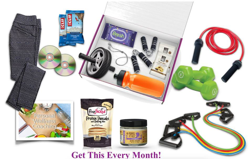 monthly subscription boxes: home fitness crate
