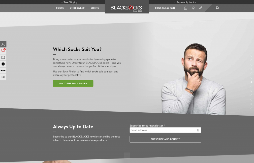socks subscription model