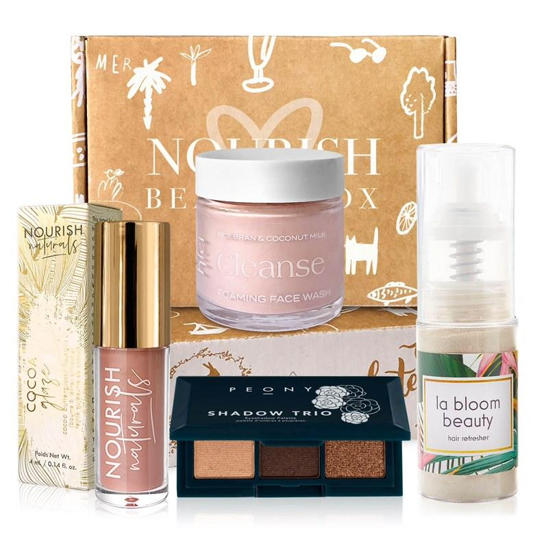 Nourish Beauty Box - subscription boxes for women