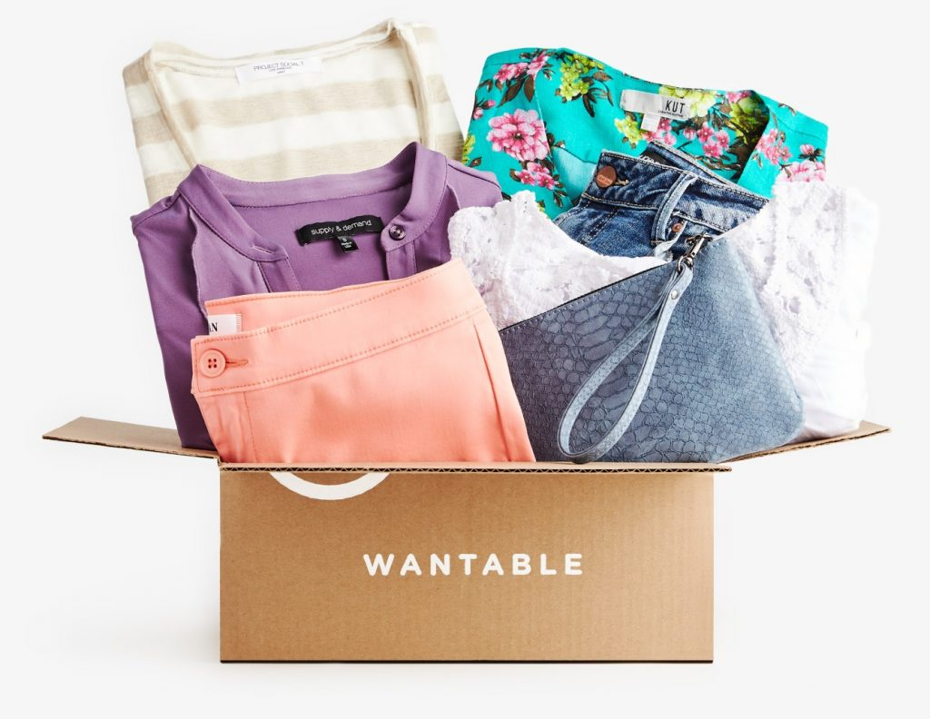 Clothing subscription boxes for women - Wantable