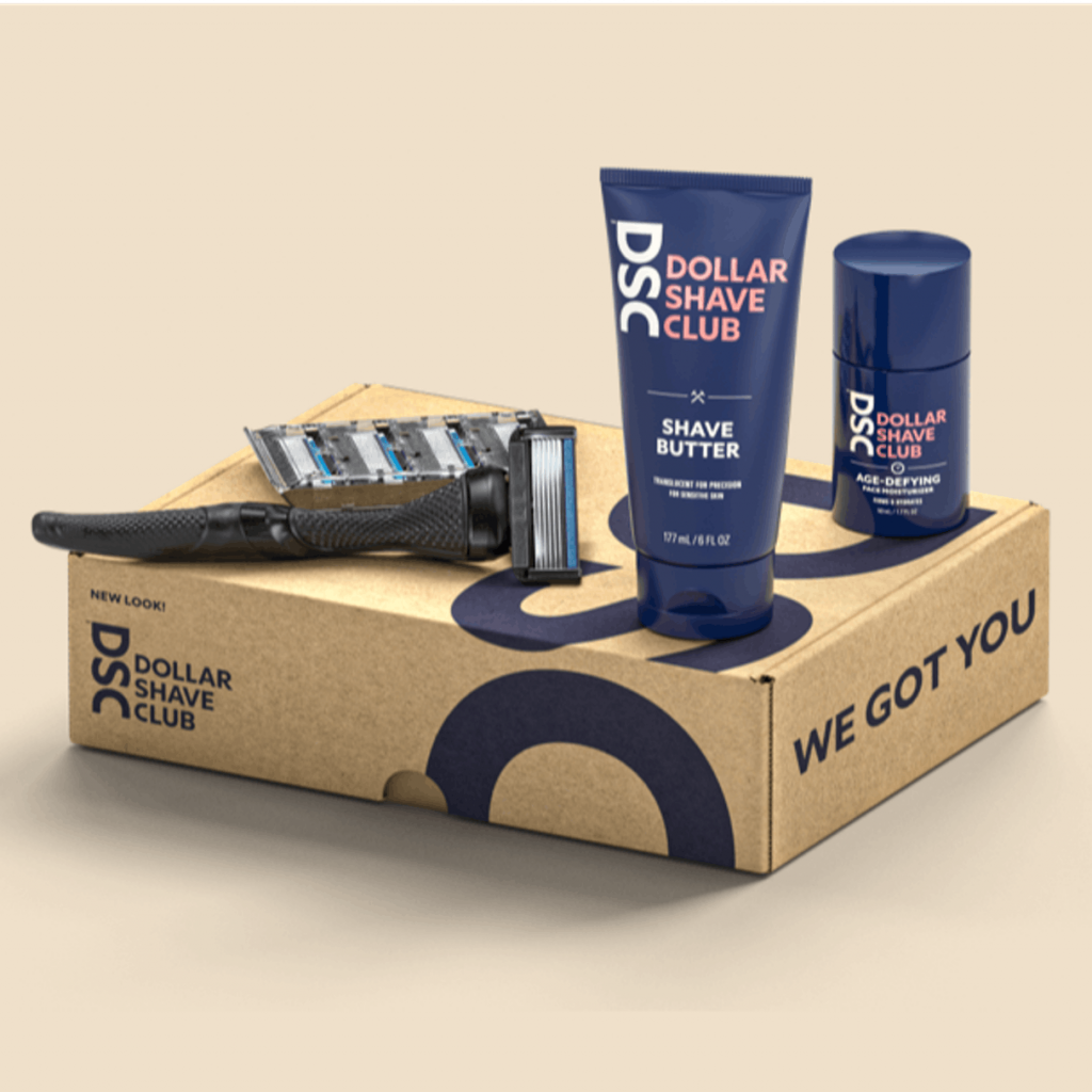 Subscription boxes for men - Dollar Shave Club