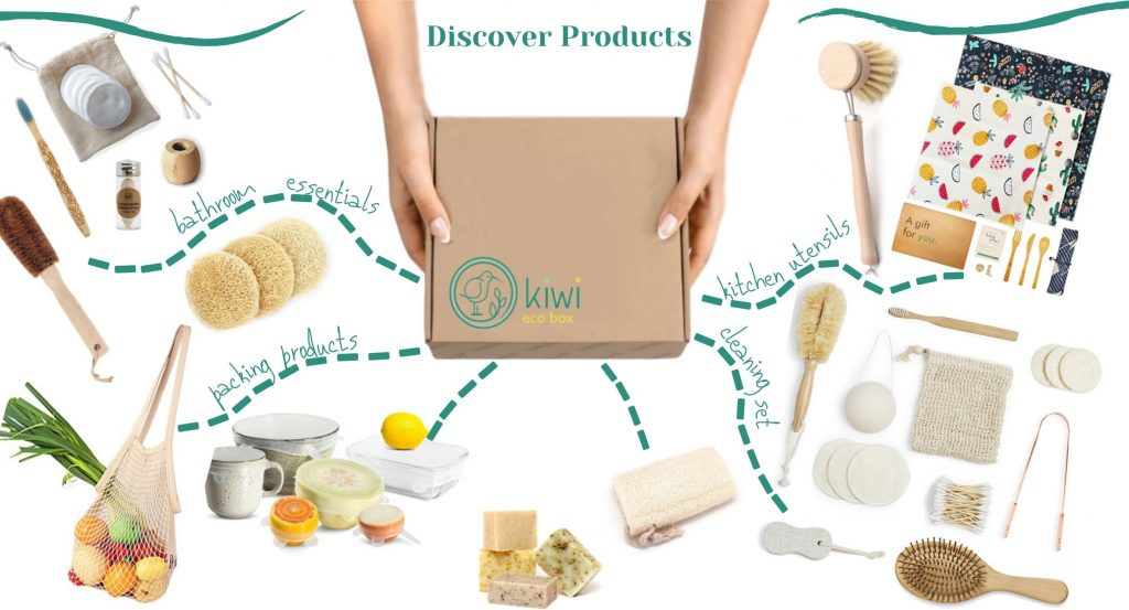 Kiwi Eco Box - subscription boxes for women