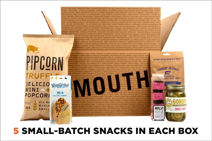 Subscription boxes for men - Mouth