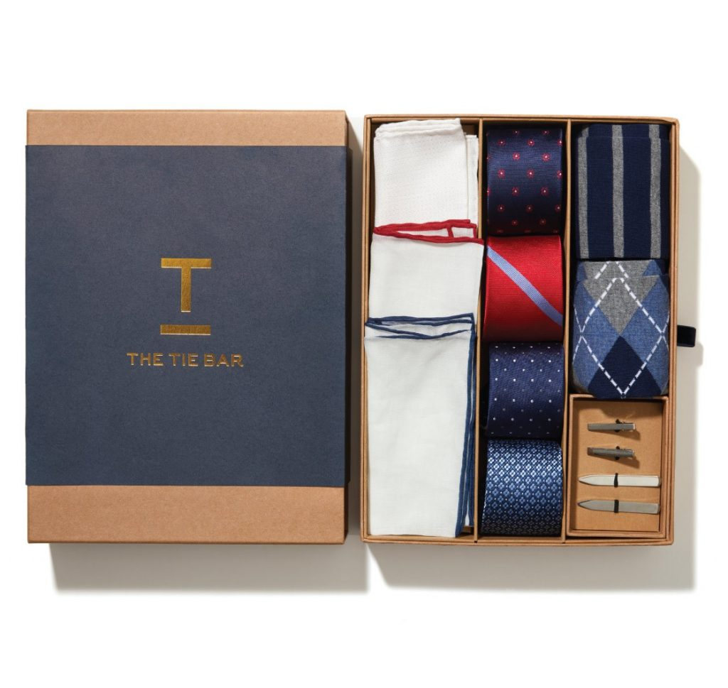 Subscription boxes for men - The Tie Bar
