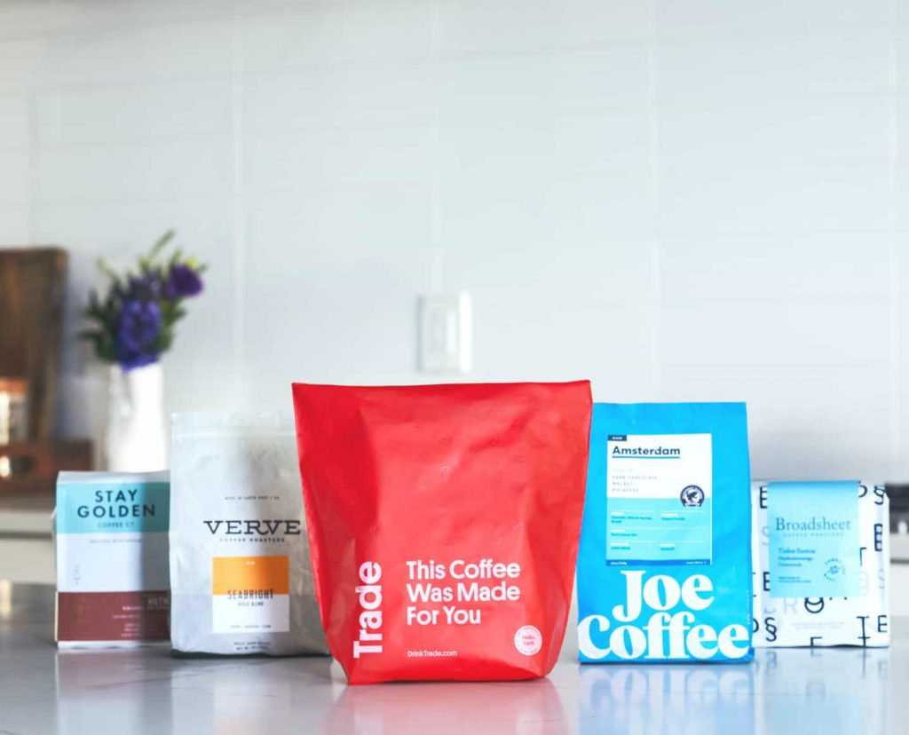 Most popular subscription boxes for men - Trade Coffee