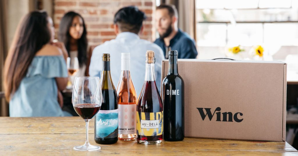 Winc - subscription boxes for women